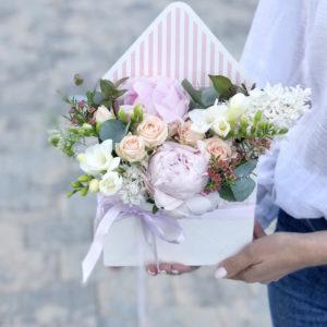 Цветы в конвертах